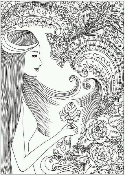 204 besten Разукрашка) Bilder auf Pinterest | Malbücher, Malvorlagen ...