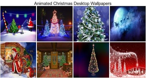 Animated Christmas Desktop Wallpapers - THIS Wallpaper This