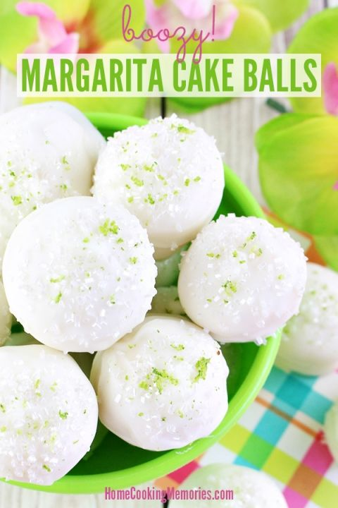 Boozy Margarita Cake Balls Recipe