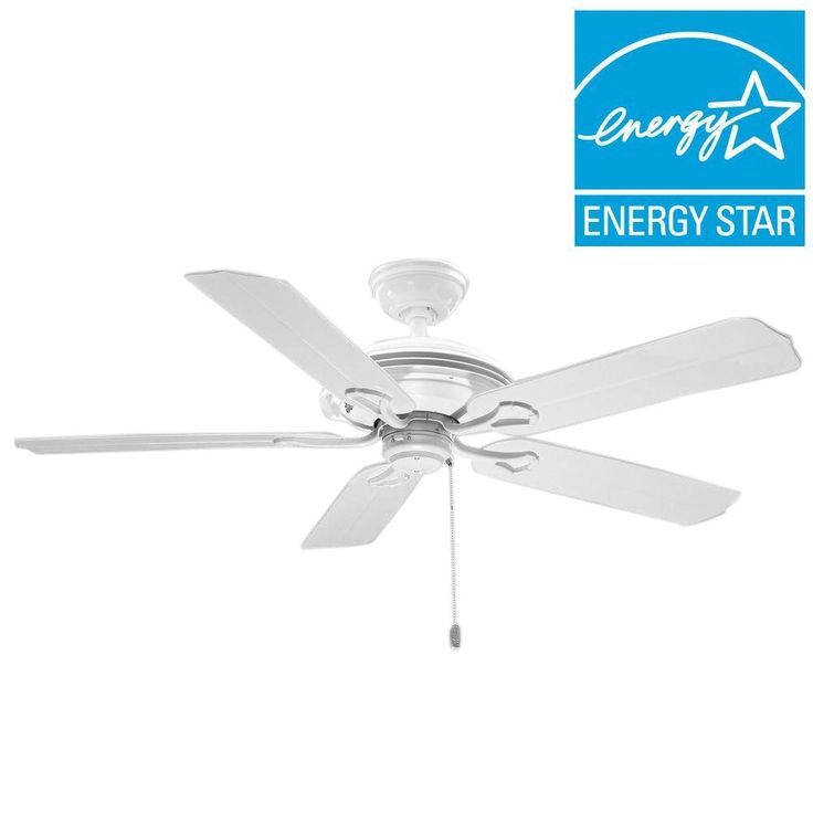 Hunter Outdoor Ceiling Fans White
