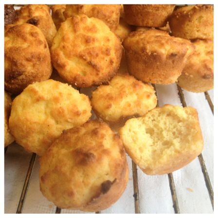 Citronmuffins (LCHF, Paleo, mjöl & mjölkfria)