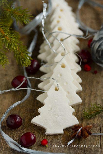Rankų darbo Kalėdų eglutės dekoracijos | Šventės idėja Christmas tree decorations DIY