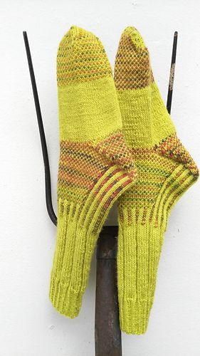 "Scottish born John Muir, ""Father of American Environmentalism"" is paid tribute in this rugged boot sock. Trail socks designed with sturdy structure and ease of knitting. Wide ribbing, corrugated ribbed ankle, cushioning stranded heel, gusset, upper instep & toe -- features the Strong Heel which has a ""mock heel flap"" (that means no stitches to pick up for gusset), Five sizes, x-small thru x-large. Options for short & ankle versions of trail sock, plus option for classic ""Country Sock..."
