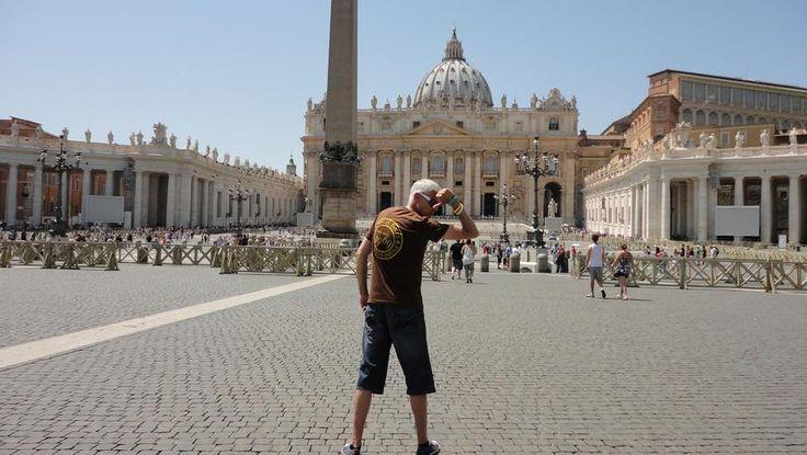 JanCarstensen.dk   at the Vatican City - Roma Italy...