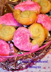 Sweetheart Palmier Cookies at MyRecipeMagic.com