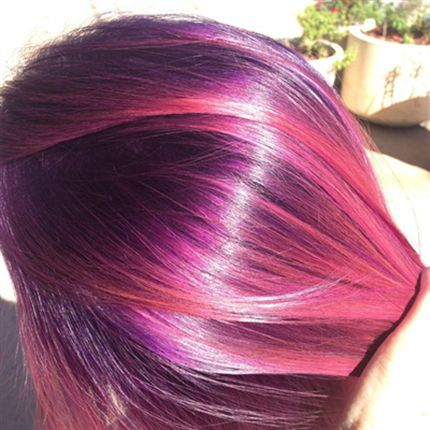 Color formulas: Smoky Violet...Dusty Rose