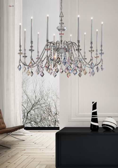 Top-range decorative lighting market.
