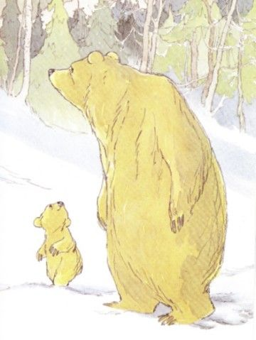 Barbara Firth illustrations from The Little Bear books #eltern #orientierung  www.ikobe-kinder.de