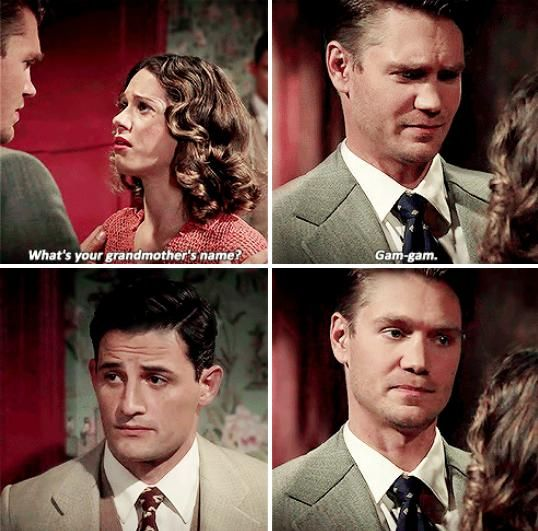 Agent Carter | Gam-Gam | The look between Sousa & Thompson XD
