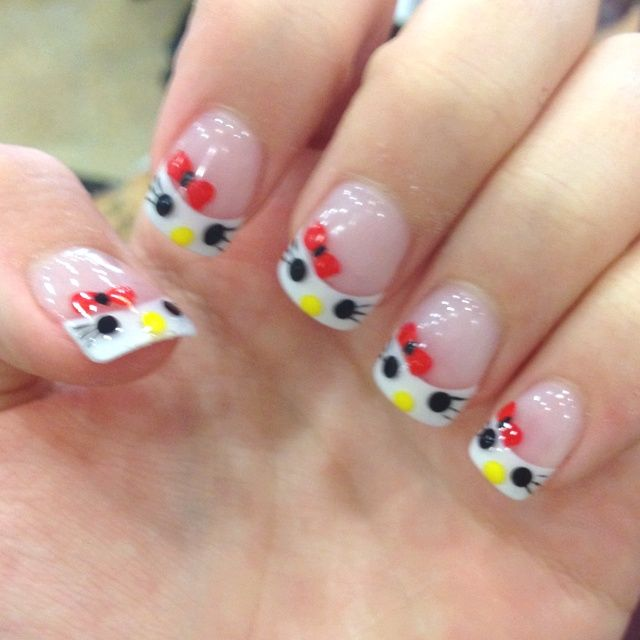 Más de 1000 ideas sobre Uñas De Hello Kitty en Pinterest