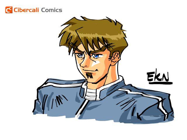 "PROCESO: Grinteshi, personaje de ""El Discipulo"" en Cibercali Comics | EKN: Mis Dibujos de Anime Manga"