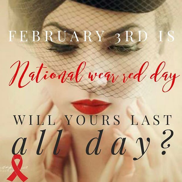 National Wear Red Day® is Friday, February 3, 2017 Why Go Red? Heart disease and stroke cause 1 in 3 deaths among women each year, killing approximately one woman every 80 seconds. Fortunately, we have the power to change that because 80 percent of cardiac and stroke events may be prevented with education and action.  https://www.goredforwomen.org/home/get-involved/national-wear-red-day/  Will your lips be ready to support national red day all day with Lipsense? ⛑☎...