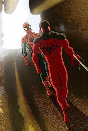 Kaine/Scarlet Spider of Ultimate Spider-Man