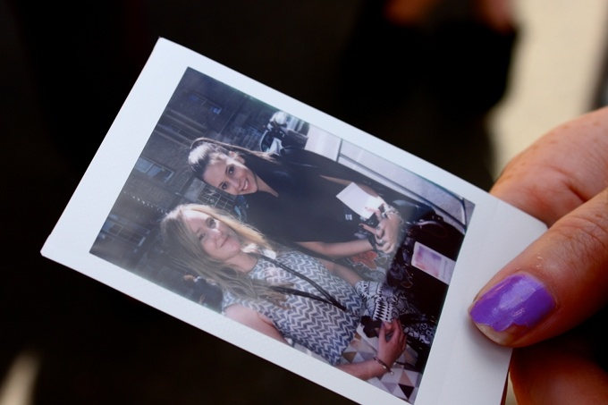 At MBFWA 12 with Liss (Daydream Lily)