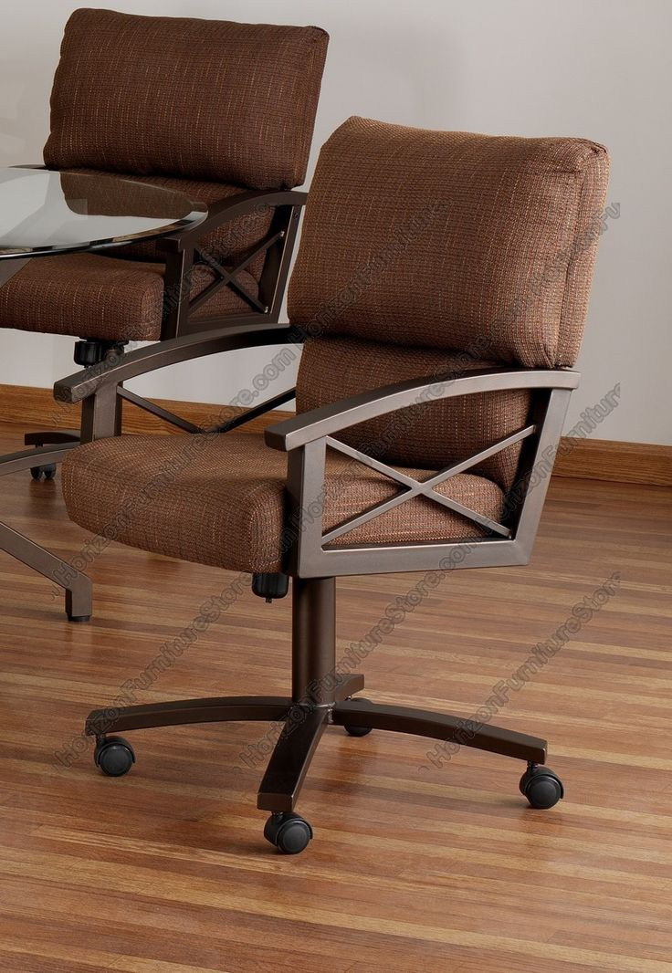 17 best images about tempo caster chairs on pinterest for Dining chairs with casters