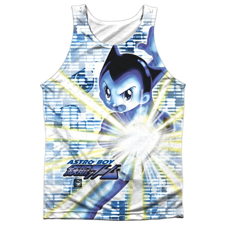 """Checkout our #LicensedGear products FREE SHIPPING + 10% OFF Coupon Code """"Official"""" Astro Boy/beams-adult Poly Tank T- Shirt - Astro Boy/beams-adult Poly Tank T- Shirt - Price: $24.99. Buy now at https://officiallylicensedgear.com/astro-boy-beams-adult-poly-tank-shirt-licensed"""