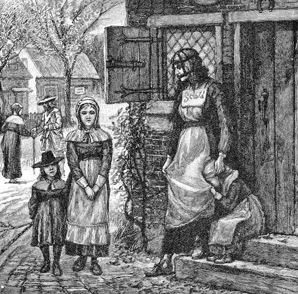 """Haro sur les féminicides: """"Bride"""" écossaise;l'usage de la muselière viendrait d'Ecosse et date, semble-t-il du 16ème siècle"""