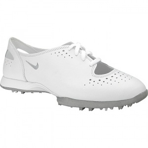 62K-32SALE - Womens Nike Air Golf Cleats White - Was $110.00. BUY Now - ONLY $89.99