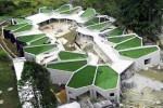 The 'Pajariro Jardin Infantil La Aurora' school in Aburra Valley, Colombia. #architecture