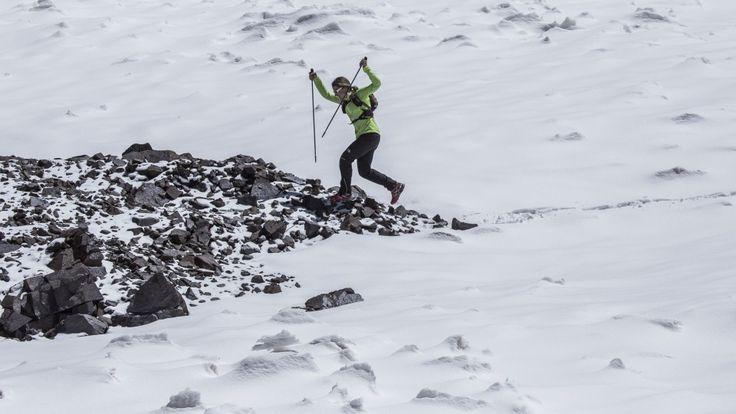 Fernanda Maciel corre pelo Monte Aconcágua