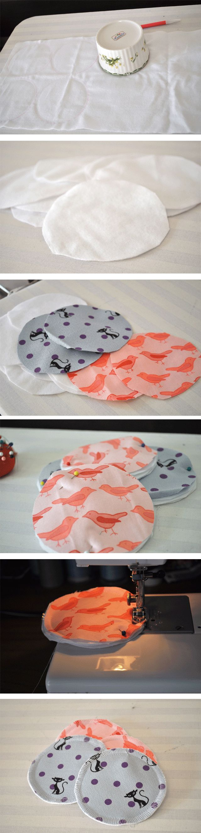 Hello! I'm 24 week pregnant now. No picture of belly this week, but instead, I would like to show you how to make reusable nursing pads. The thought of breast feeding the baby kind of scares me. I never look at my boobs as a source of food for a human being, and I'm not …