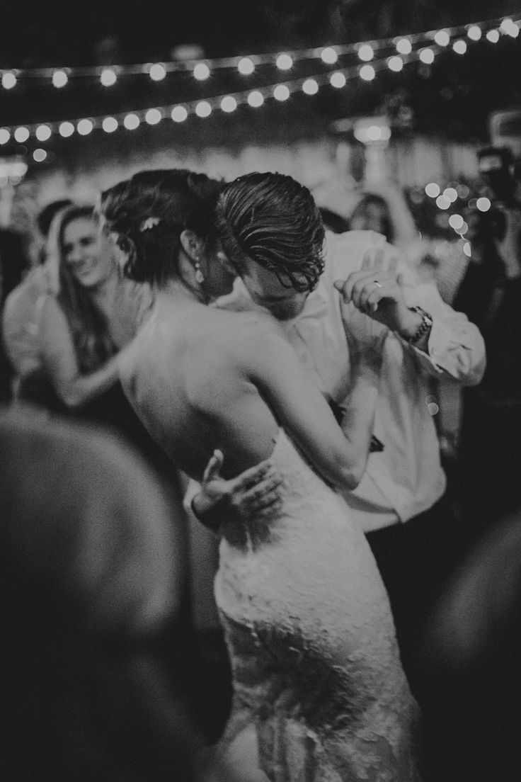 Darlington House wedding La Jolla California; PHOTOGRAPHY by Joel + Justyna Bedford; first dance under twinkle lights;