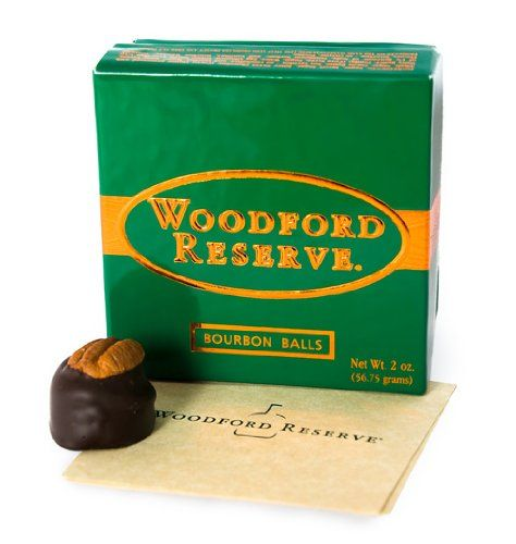Pack of 4 Woodford Reserve Bourbon Balls 4 pc Gift Boxes (16 candies) - http://mygourmetgifts.com/pack-of-4-woodford-reserve-bourbon-balls-4-pc-gift-boxes-16-candies/