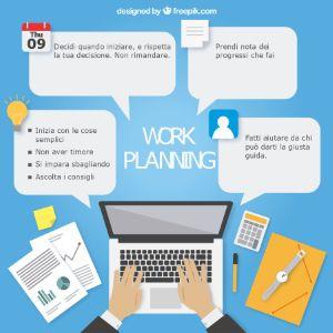 Pianifica il tuo lavoro partendo dall'imparare ad usare i tuoi strumenti tecnologici