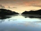 Sunset by Swartvlei Lake near Sedgefield, Garden route