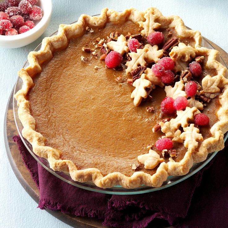 Apple Butter & Pumpkin Pie Recipe -I'm proud of this pie because I made it…