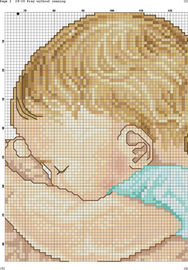 Вышивка картинок с детками
