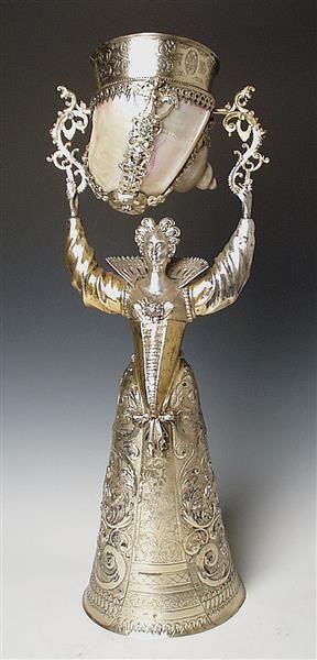 young woman cupcake Hillebrandt, Friedrich (1555-1608) | Goldsmith Nuremberg to 1603-1608