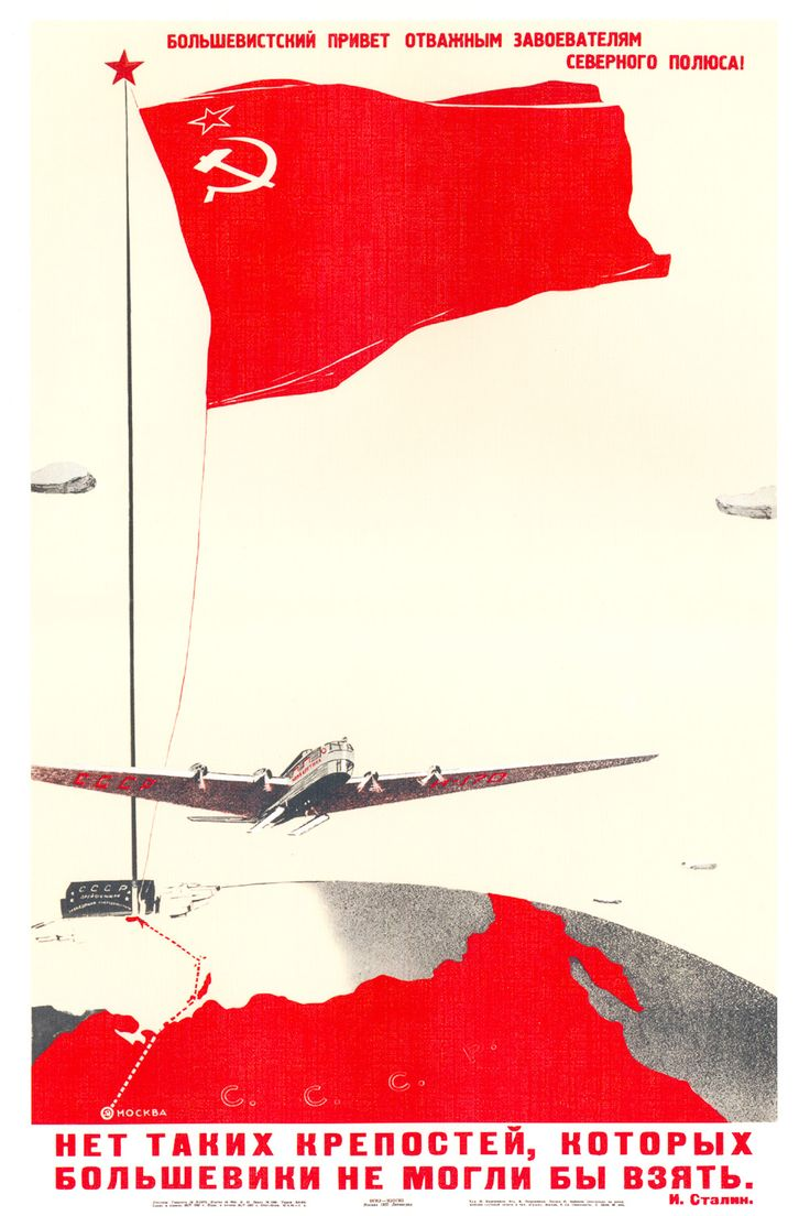 CCCP Aviation Poster