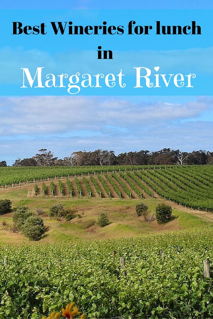 If you are trying to decide where to eat in the Margaret River, here we give you our pick of the best Margaret River wineries for lunch.