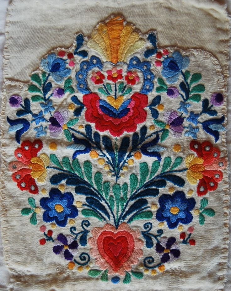 a very old embroidery from Hungary
