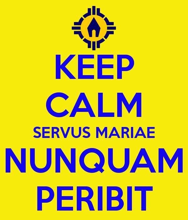 A servant of Mary will never perish