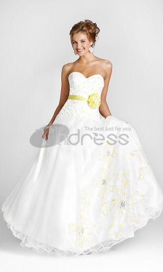Abiti da Sposa Colorati-Agli abiti incantevoli reggiseno di stampa di nozze