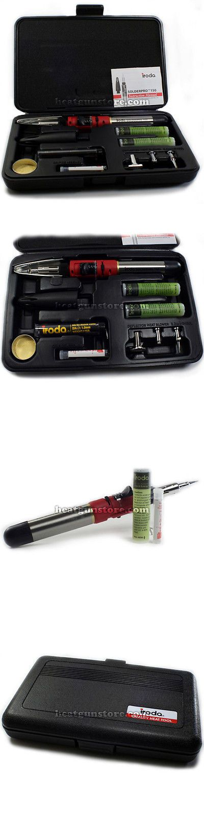 Welding and Soldering Tools 46413: Iroda Solderpro 150 Butane Gas Soldering Iron Kit -> BUY IT NOW ONLY: $101.95 on eBay!