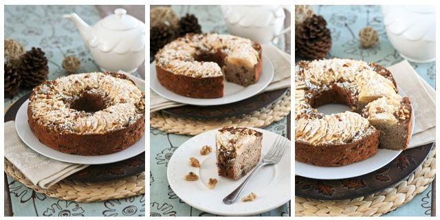 Vegan and Grain Free Buckwheat Apple Ring Cake Buckwheat - my latest discovery and newest obsession!