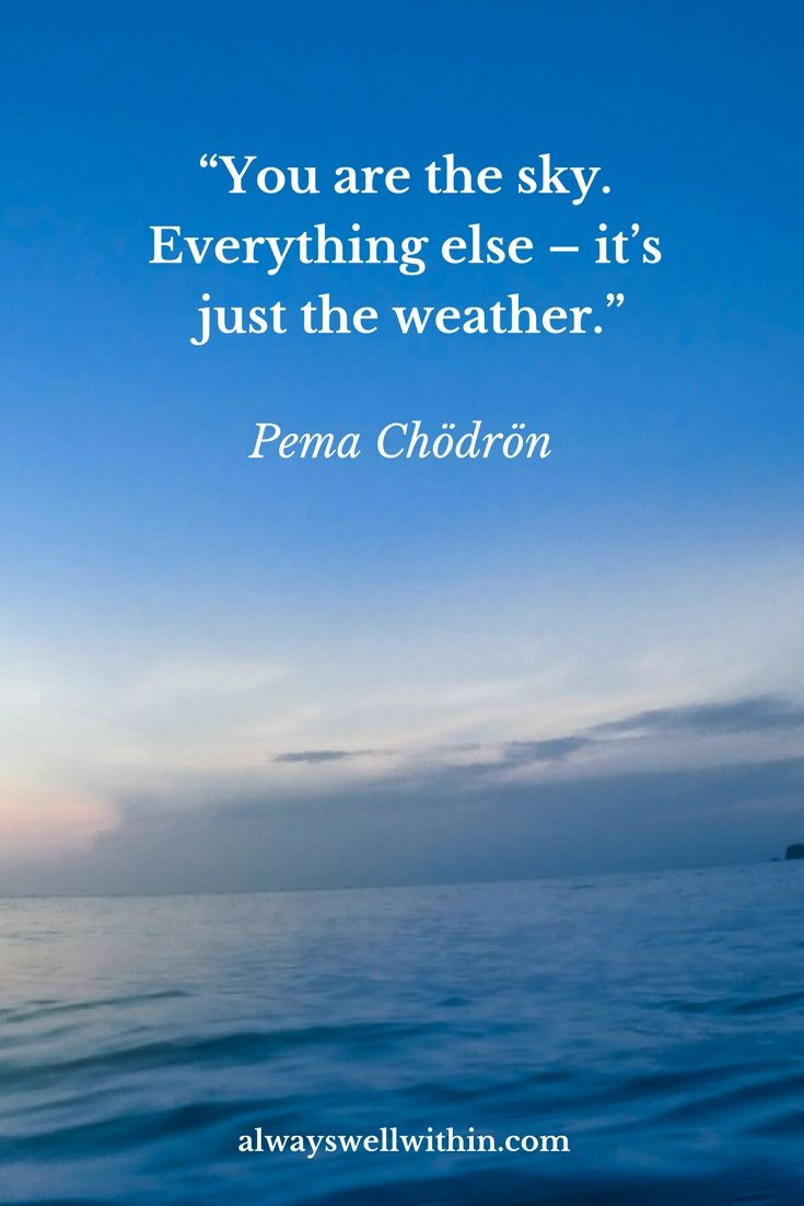Meditation Quote | Pema Chödrön