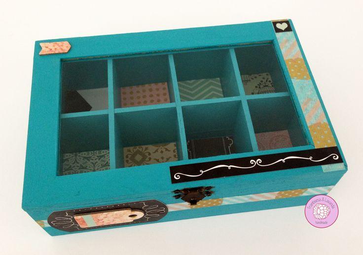 #Joyero #Caja #Scrap #Handmade #Chalkpaint