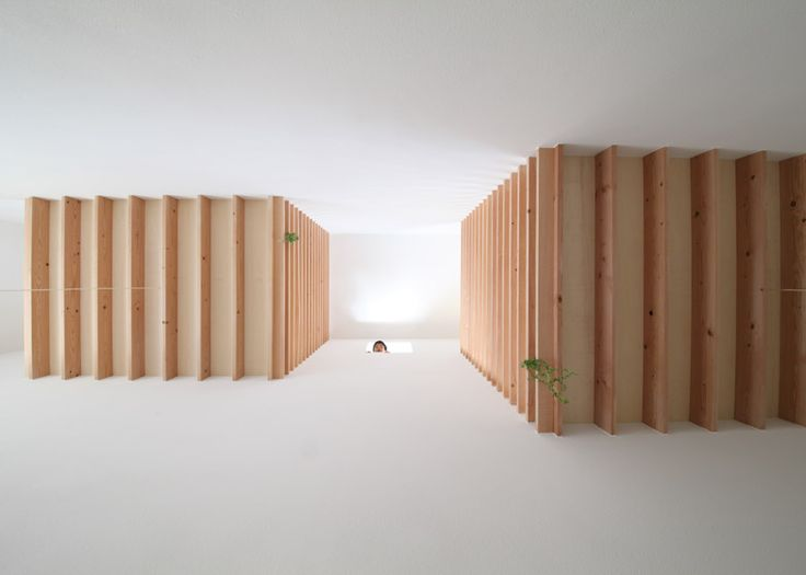 House in Yamanote has a series of indoor sleeping platforms