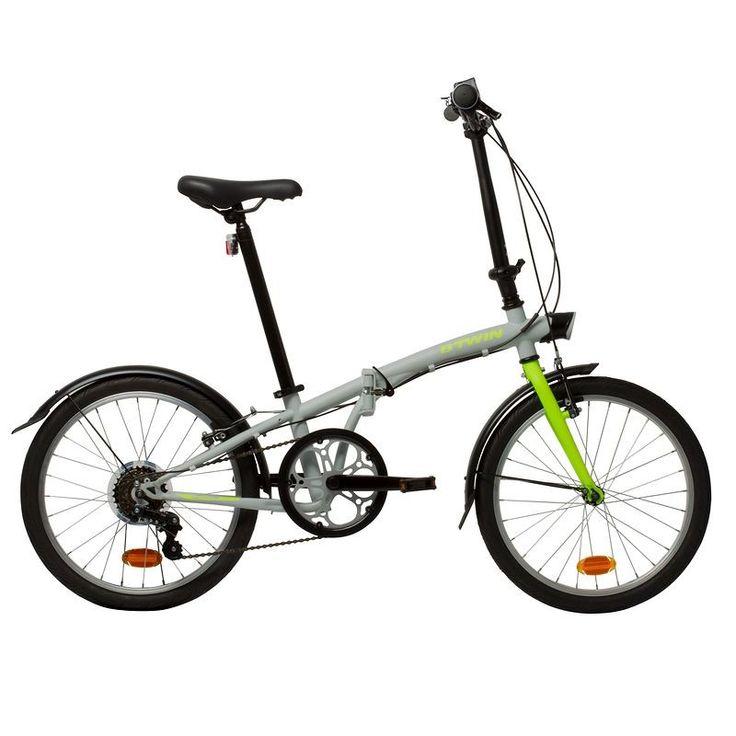 "Vélo pliant Decathlon promo vélo, achat HOPTOWN 320 20"" GRIS prix Decathlon 229.99 €"