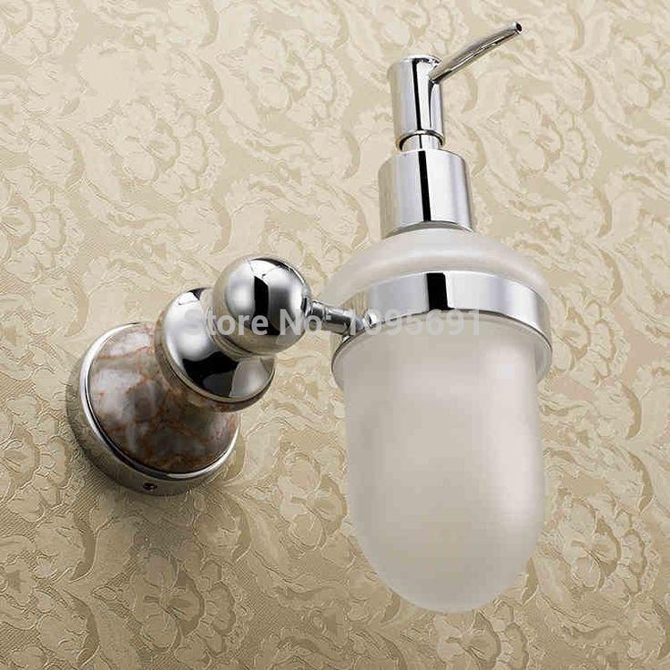 Отличная серии сплошной медь латунь мыло дозатор флакон духов туалет кулон ванная аксессуары