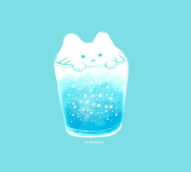 Snow Milk Cat 02.