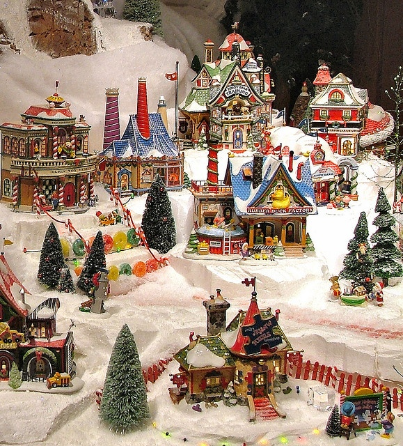 Department 56 - North Pole Series Display by Department 56, via Flickr