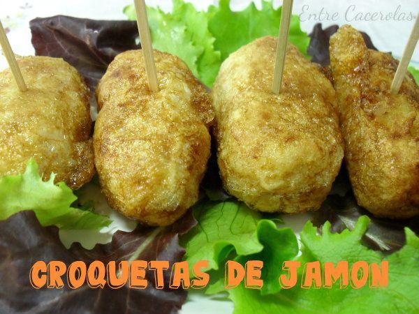 Entre Cacerolas: Croquetas de Jamón