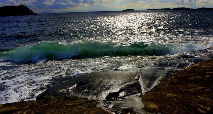 Sea of blue by susannemkarlsson