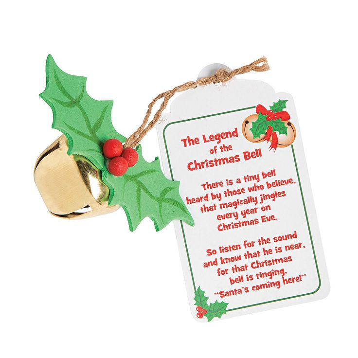 "Legend Of The Christmas Tree Poem: ""The Legend Of The Christmas Bell"" Craft Kit"