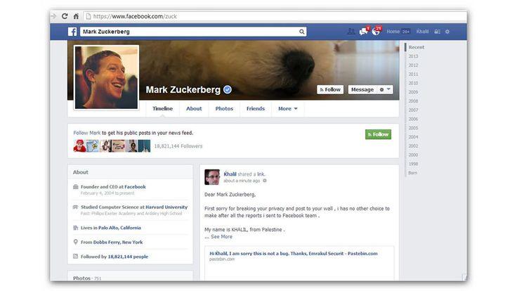 Facebook Denies Zuck Wall Hacker $500 Reward, Internet Gives Him $10K